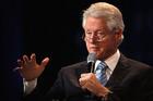 Bill Clinton defends embattled family foundation