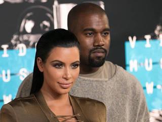 Kanye West and Kim Kardashian visit Lamar...