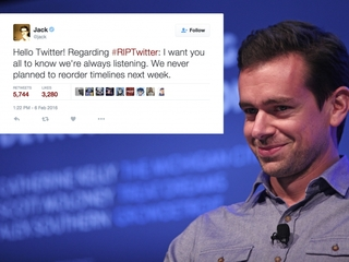 Twitter CEO says the site's feed isn't changing