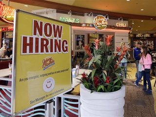Applications for US jobless aid falls sharply