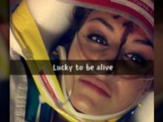 Lawsuit blames Snapchat after teen wrecks car