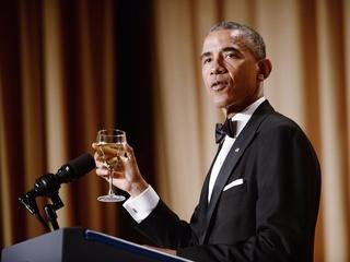 Watch: Obama's final WH Correspondent's Dinner