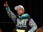 Floyd Mayweather hints at possible comeback
