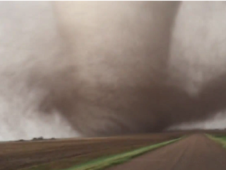 'Large and destructive' tornado hits Kansas
