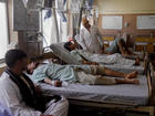 Afghan officials: Taliban attack buses,