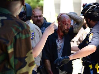 Cops face criticism after Sacramento rally fight