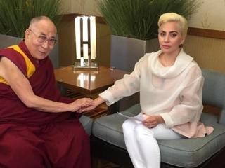 China bans Lady Gaga after Dalai Lama meeting