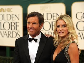 Dennis Quaid's wife files for divorce again