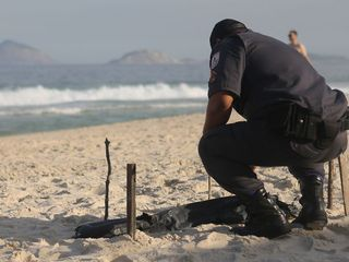 Body parts wash ashore near Rio Olympic venue