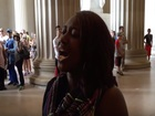 Woman's song at Lincolon Memorial goes viral