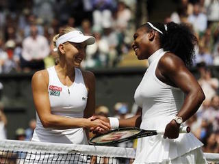 Serena Williams advances to Wimbledon finals