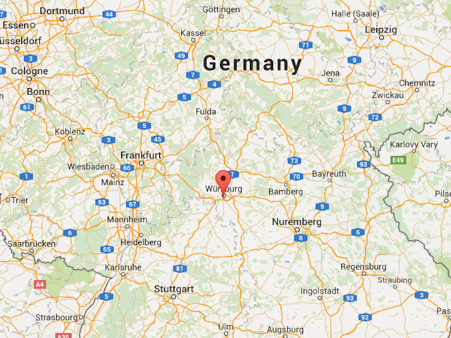 Afghan wielding axe killed after attack in Germany