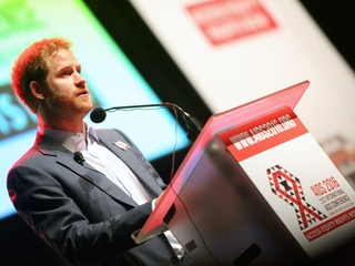 Prince Harry works to fight HIV and AIDS