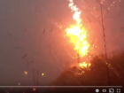 Videos capture stunning lightning strikes