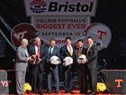Battle at Bristol a college football mega-event