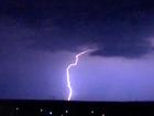 Worker struck by lightning has died