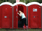 Man dives into outhouse toilet for dropped phone