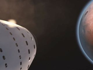 Elon Musk presents plans for getting to Mars