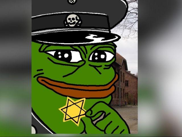 life pepe frog memes anti semitic hate symbol defamation league