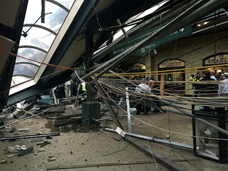 1 dead, dozens hurt in N.J. train crash