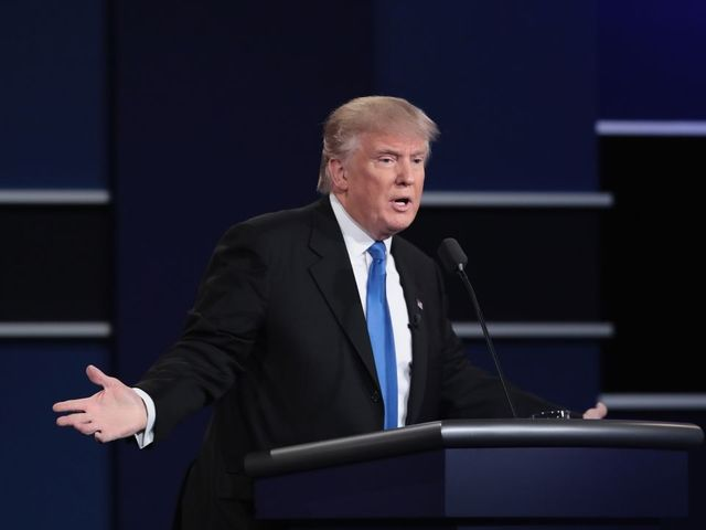 It Turns Out Donald Trump Did Have Audio Issues At The Debate