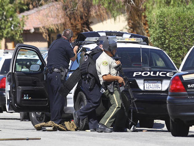 Two Palm Springs police officers killed, one wounded