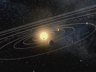 A ninth planet may have tilted solar system