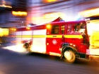 Boy killed in fire, 3, found huddled with dog