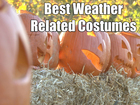 VIDEO: Halloween costumes inspired by weather