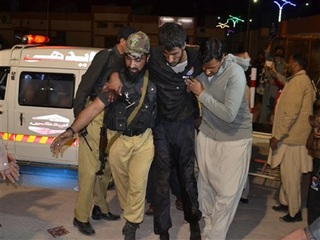 Dozens of police trainees killed in Pakistan