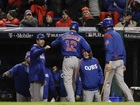 Cubs awaken, top Indians to even Series at 1