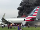 No injuries in plane fire in Chicago