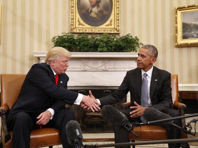 Trump denies push for kid security clearances
