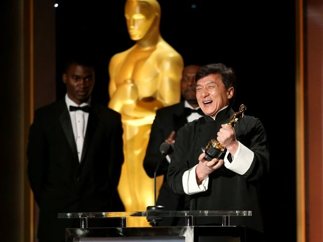 Jackie Chan receives Lifetime Achievement Oscar