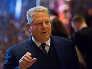 Al Gore meets with Donald Trump