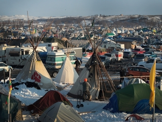 Tribe leader asks activists to go home