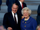 George H.W. Bush and wife Barbara recovering