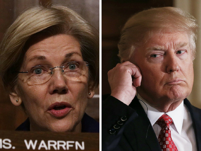Trump can't stop hurling 'Pocahontas' insult at Warren