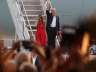 Trump rallies supporters at rally in Melbourne