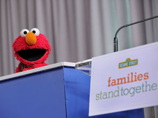 Video shows Elmo fired over PBS budget cuts