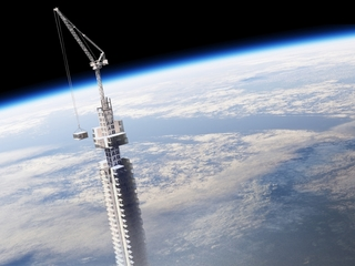 Proposed skyscraper would dangle above Earth