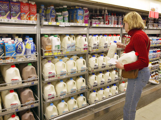 Here's the reason Vitamin D is added to milk