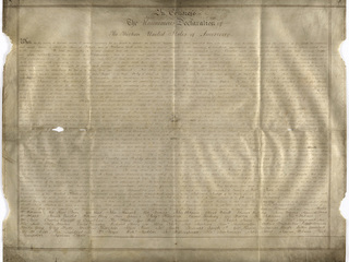 Rare copy of Declaration of Independence found