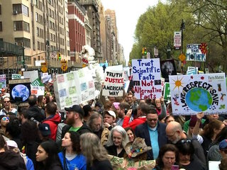 Marches For Science held worldwide Saturday