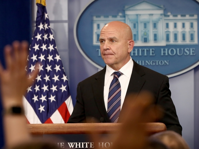 Trump defends McMaster as conservatives seek his dismissal