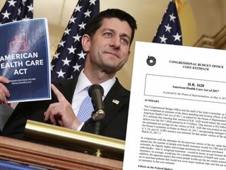 CBO scores latest Republican health care plan