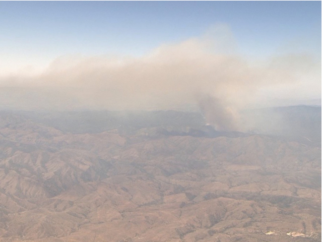 Wildfires burn hundreds of acres in Utah, California