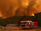 Cali. wildfire slows as residents try to recover