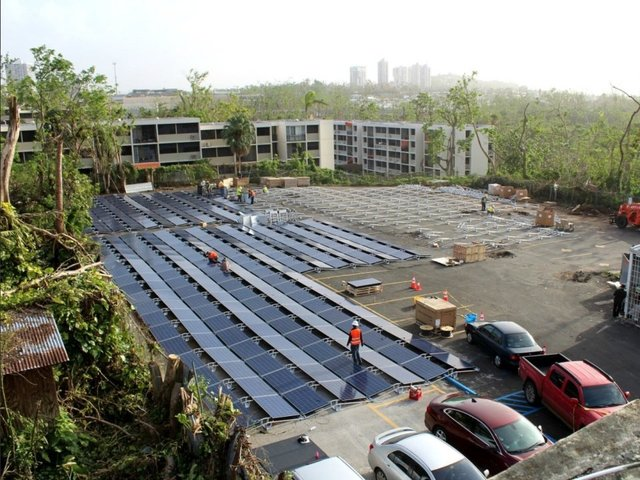 Tesla delivers solar power to Puerto Rico hospital