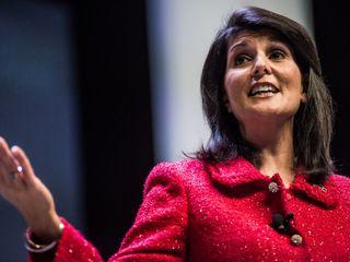 Haley addresses UN in wake of Syria strikes